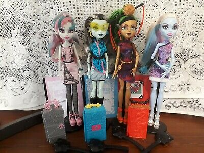 Monster High Lot - 4 X Scaris PLAYED WITH CONDITION