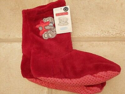 Gorgeous Girls Brand New Marks and Spencer Tatty Teddy Slipper Boot Socks...