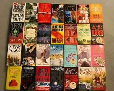 Build Your Own Lot Paperback Books / Novels 500+ Romance Suspense Thriller Crime