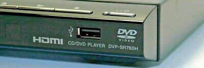 Sony DVP-SR760H Upscaling DVD Player With HDMI & USB