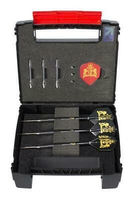 Royal Darts Black B!Steeldarts 20g Dardos Juego de Set Steel