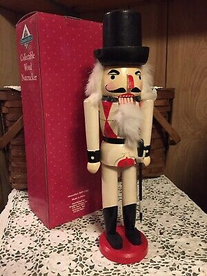 "15"" Wooden Nutcracker - New In Box"
