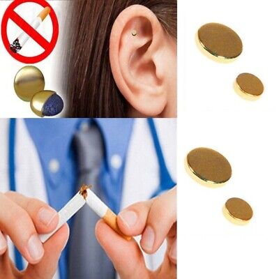 Quit stop smoking ear magnet acupressure anti cigarettes smoke device magnetic