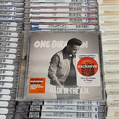 One Direction Made in the A.M. Target Exclusive CD Liam Payne