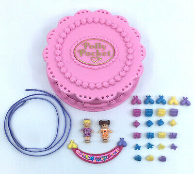 Polly Pocket Birthday Surprise 1994 Party Cake 99% COMPLETE!
