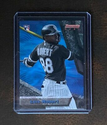 2020 Topps Tbt Set 7 #39 Luis Robert (Rc) - Chicago White Sox - Bowmans Best