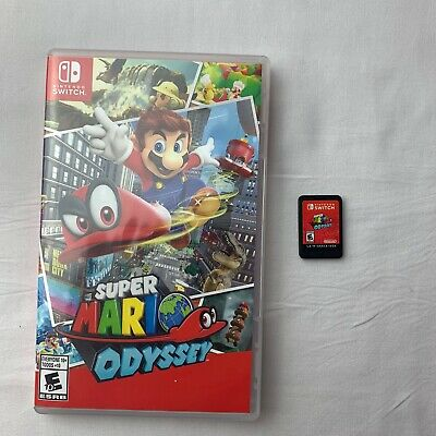 Super Mario Odyssey (Nintendo Switch, 2017) excellent shape