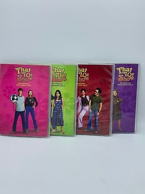 That 70's Show The Complete 5th Fifth Season 4 Disc DVD Set