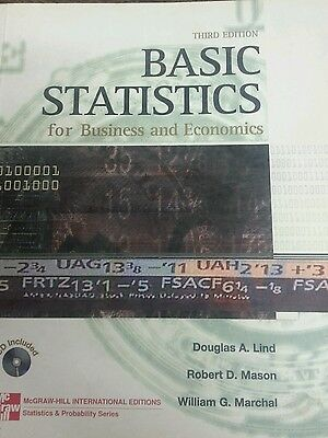 Basic Statistics for Business and Economics by Douglas A. 3rd ed