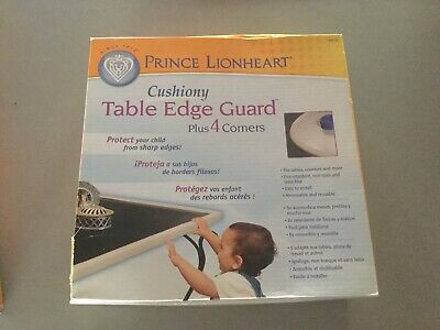 Prince Lionheart table edge guard with corners beige