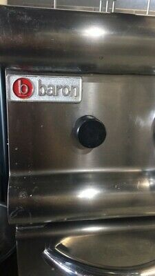 Baron 2 X 10L Split Pot Gas Deep Fryer
