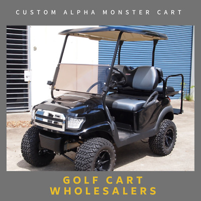 Golf Cart, Car,Buggy Club Car Precedent Custom Monster Cart With Alpha Body Kit