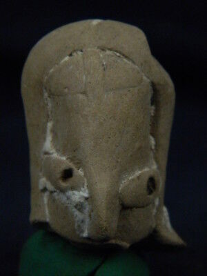 Ancient Teracotta Mother Goddess Head Indus Valley 2000 BC #TR7648