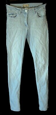 Girls Next Light Blue Denim Adjustable Waist Skinny Stretch Jeans Age 14 Years
