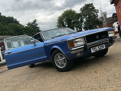 FORD GRANADA 3.0 GHIA COUPE BLUE AUTOMATIC 1977/R *Extra Images in Description*