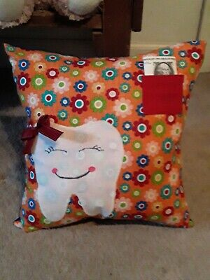 """Tooth fairy pillow-13"""" x 13"""""""