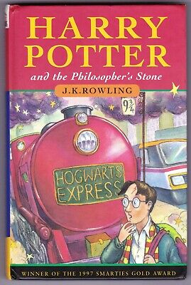 HARRY POTTER & THE PHILOSOPHER'S STONE 1st edition UK HB Hardback 1997 13th - G+