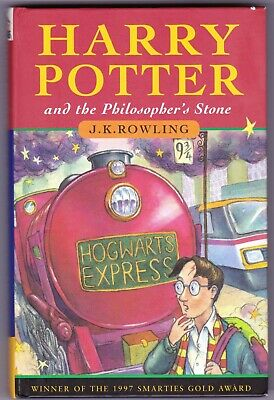 HARRY POTTER & THE PHILOSOPHER'S STONE 1st edition UK HB Hardback 1997 12th VG+