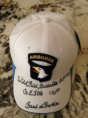 Wild Bill Guarnere signed cap