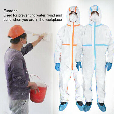 Disposable Coveralls Overalls Coveralls Boilersuit Hood Painters Protective Suit