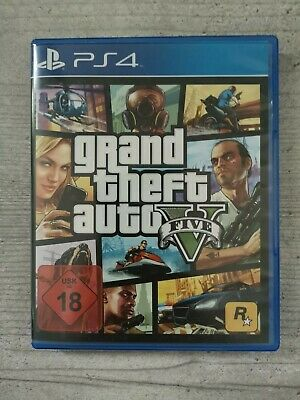 Sony Playstation 4 PS4 Spiel Grand Theft Auto V GTA 5 Five