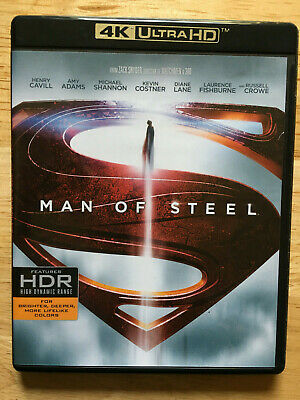 MAN OF STEEL (4K UHD + Bluray) No digital