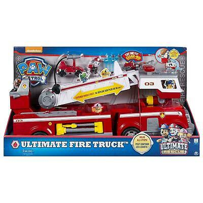 Spin Master Paw Patrol Ultimate Fire Track Rescue Marshall
