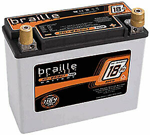 Braille Battery B2618 Advanced AGM Lightweight Racing Battery