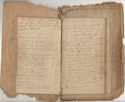1861-1880 - Handmade Physician's Medicine and Supply Purchase Ledger