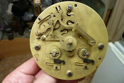 Good Antique French Clock Striking Movement  (St)