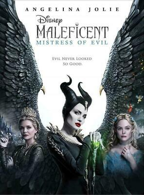 Maleficent Mistress of Evil DVD NEW *FAMILY FANTASY* SHIPPING NOW !