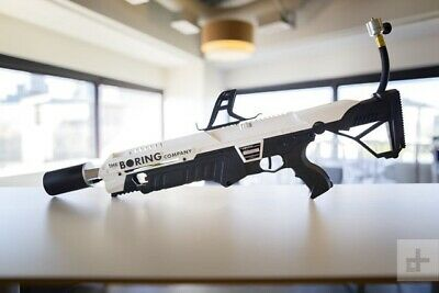 BRAND NEW! NOT-A-FLAMETHROWER - THE BORING COMPANY w/ extinguisher and letter