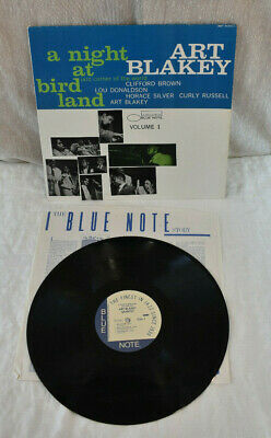 Art Blakey Quintet A Night At Birdland Volume One Blue Note BST-81521 LP Album