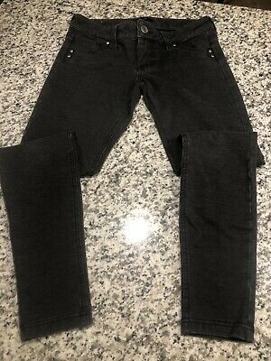 STS Blue Skinny Leg Polyester/Rayon/Spandex Jeans Casual Pants- GRAY - Women's 3
