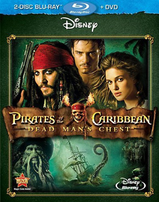 DEPP,JOHNNY-Pirates Of The Caribbean: Dead Man`S Chest Blu-Ray NEUF