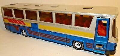 Siku Reisebus Single Decker Coach With Luggage 3417 Made In W. Germany