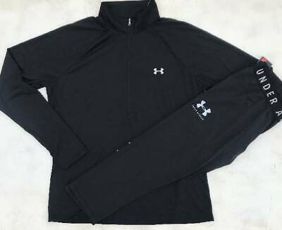 Women's Small Black Under Armour Pullover & Black Capri Leggings Outfit Nwt