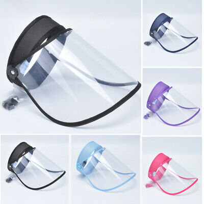 Unisex Protective Cap Anti-spitting Cover Outdoor Hat Splash-Proof Transparency
