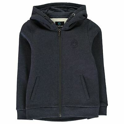 Firetrap Kids Boys Zip Hoody Junior Hoodie Hooded Top Long Sleeve Lightweight