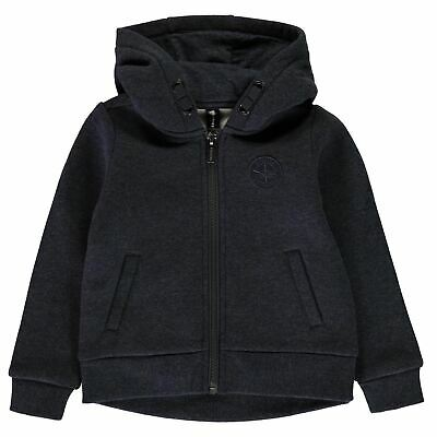 Firetrap Kids Boys Zip Hoodie Infant Hoody Hooded Top Long Sleeve Lightweight