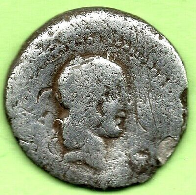 *  CALPURNIA  Gens (90 BC) - Quinarius  Victory standing with palm over shoulde