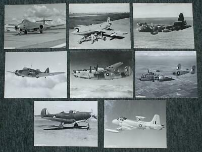 8 Vintage AUSTRALIAN  RAAF MILITARY PLANES PHOTOGRAPHS- Original Photographs