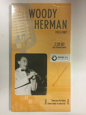 Woody Herman 1913-1987 Classic Jazz 2 cd + Livret 20 Pages neuf sous blister