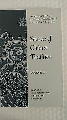 Sources of Chinese Tradition: Sources of Chinese Tradition Vol. 2 (1964, Paperba