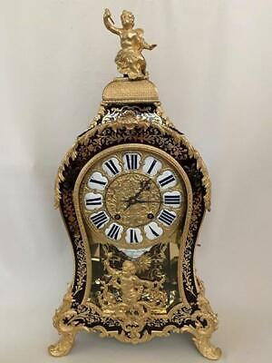 Exquisite Boulle Bracket Clock by  Moreau Laisne Paris early 18th