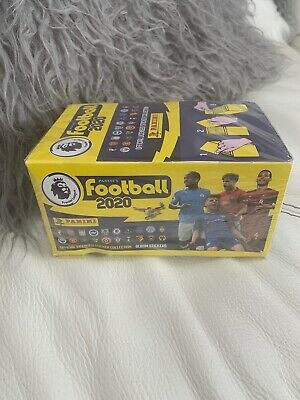 **Brand New** Full Box 100 Packets Panini FOOTBALL 2020 Premier League Stickers
