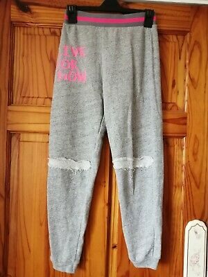 Girls Aged 9-10 Years Jogging Trousers From River Island
