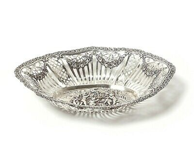 Silver open-work bowl (putti).  Was imported to Sweden.