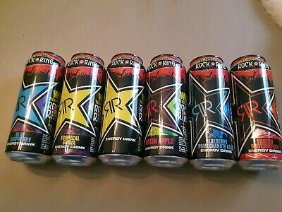 Rockstar Energy Drink Rock am Ring Code 2017, 6 full cans