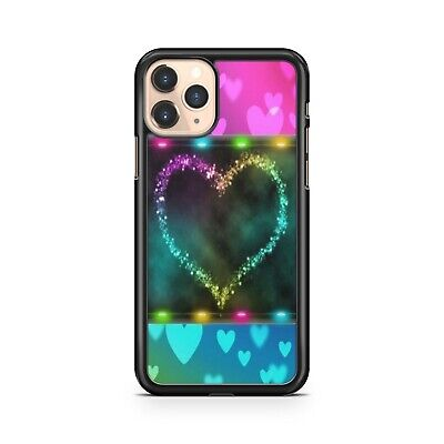 Dreamy Luscious Colourful Delightful Lovely Love Heart Girls Phone Case Cover
